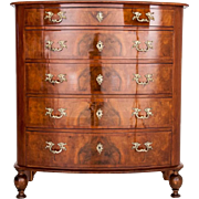 Chest of drawers from around 1880. AFTER RENOVATION.