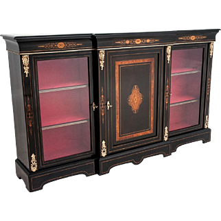 Side cabinet - the Napoleon III site from around 1880. AFTER RENOVATION.
