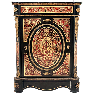 Boulle cabinet from around 1890.