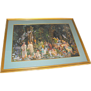 "James Christensen ""Court of Faeries"" Signed Lithograph Print"