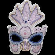 Lladro Porcelain Flower Queen Mask #2