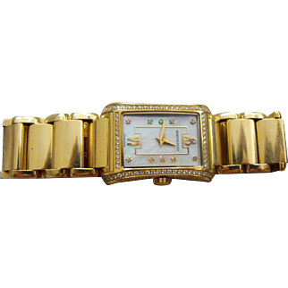 BERTOLUCCI Ladies Fascino 18K Gold and Diamonds Wrist-Watch