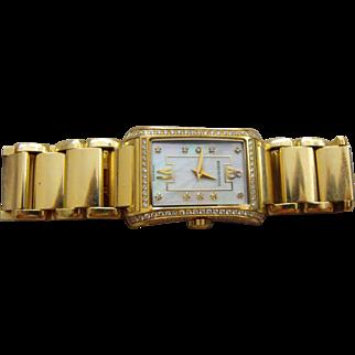 BERTOLUCCI Ladies Fascino 18K Gold and Diamonds Wrist-Watch