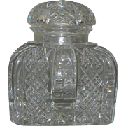 Baccarat French Crystal Zola Limited Edition Inkwell