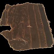 Antique Ancient Coptic Egyptian Textile Fragment