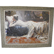 "Pino Daeni (Giuseppe Dangelico Pino) ""Mystic Dreams"" Giclee on Canvas"