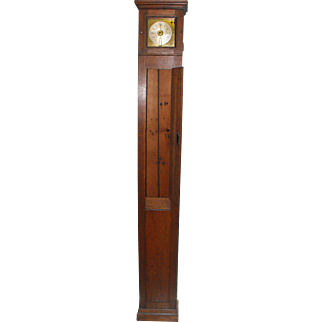 Rare Antique Whitehurst Derby Night Watchman's Noctuary English Tall Case Clock