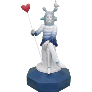 Lladro Jamie Hayon The Lover I Porcelain Figural / Figurine