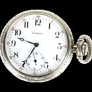 Illinois pocket watch 1912 hunter Getty 16s 11 jewels 10k GF grade 172 model 4