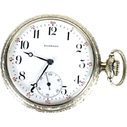 Illinois pocket watch 1912 hunter Getty 16s 11 jewels 10k GF grade 172 model 4