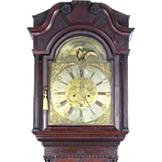Antique 18th century long case clock by Thomas Watson, Haslingden
