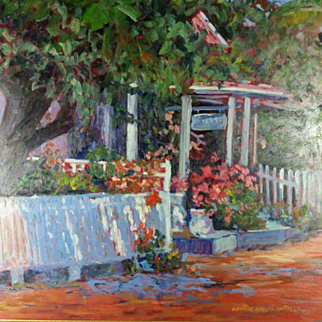 Floral Oil Painting Corinne Abeyta Spinner