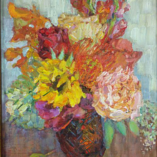 Floral Oil Painting Lyuba Titovets