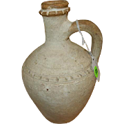 Antique Roman (1st C AD to 3rd C AD) Grey-Ware Flagon