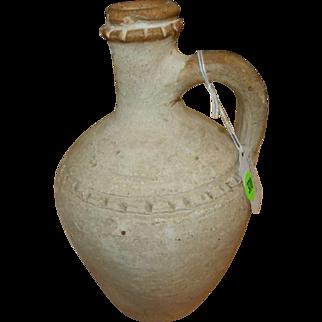 Antique Roman (1st C AD to 3rd C AD) Grey-Ware Flagon