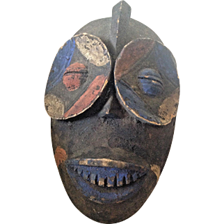 An Idiok Mask from the Ibibio people in Eastern Nigeria