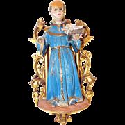 Antique Santos Saint Anthony of Padua