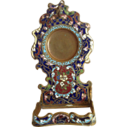 19th Century Cloisonne Pocket Watch Stand