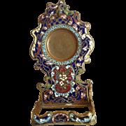 19th Century Cloisonne Pocket Watch Stand