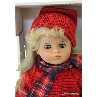 Lissi Olivia 18 inch vinyl limited edition 500 dolls from 1991 and made in Germany