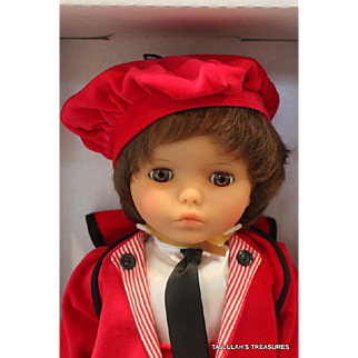 Lissi Dalton 17 inch vinyl limited edition 500 doll from 1993 and made in Germany