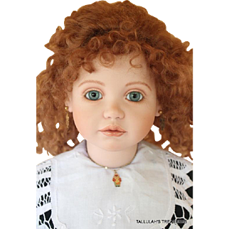 Ann Timmerman 27 inch porcelain and cloth Artist Proof doll