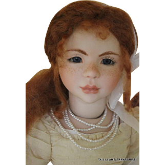 Margie Herrera Geneva 22 inch porcelain artist doll number 1 of 20