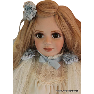 Janet Ness Jol'e Blon 24 inch limited edition 47 of 100 artist doll made in Australia