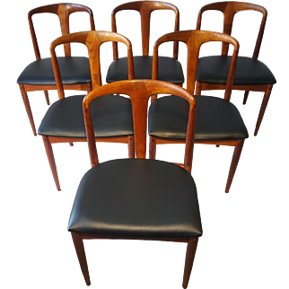 Johannes Andersen - Juliane Chair - Set of 6 Chairs