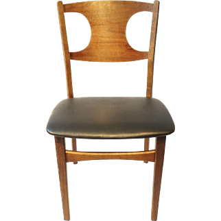 Historic Mid Century Modern Oak Chair - Danish