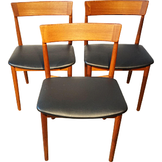 "Rosengreen Hansen ""Model 39 Chairs"" - Set of 3"