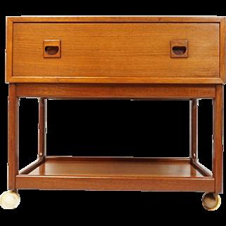 Sewing Table / Bar cart - Danish Vintage