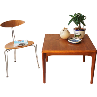 Henning Kjaernulf - Teak Coffee/Side Table