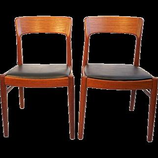 2 Korup teak chairs