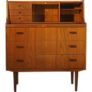 Danish Teak Secretary / Vanity table