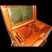 Oak Letter Box/Writing Slope