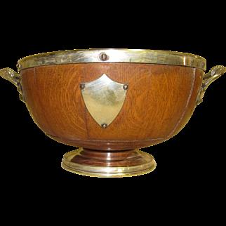 Oak Trophy Bowl