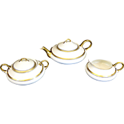 Pope-Gosser Tea Set 1930s Teapot Sugar Creamer