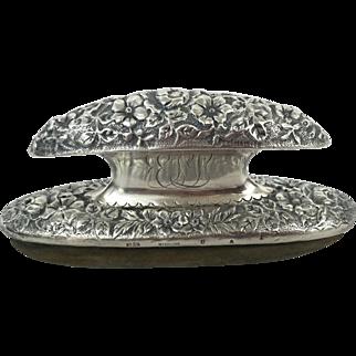 Gorham Sterling Silver Antique Nail Buffer circa 1892