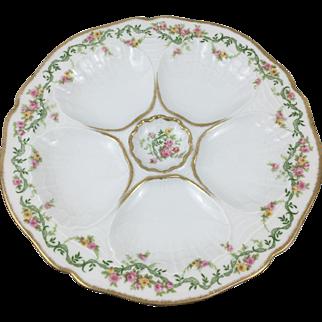 Oyster Plate - Ahrenfeldt circa early 1900's