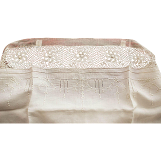 Antique Lingerie, Cotton Step in, Teddy, Ca. 1910