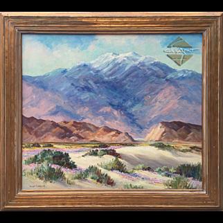 JOANE CROMWELL - 26 x 30 Mt. San Jacinto, CaLiFoRniA oil painting