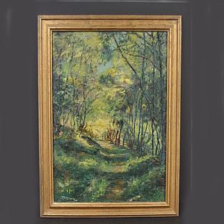 Dedrick Brandes Stuber California Landscape Painting