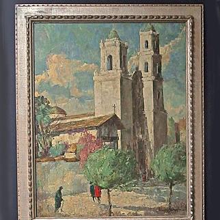 Fred Korburg Original Oil Painting