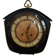 Hermle Wall Clock w/Chime (Mid-Century Design)