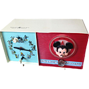 Disney Mickey Mouse Clock/Radio
