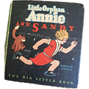 Little Orphan Annie and Sandy Big Little Book