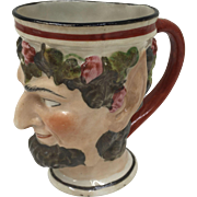 Antique Porcelain Bacchus Mug circa 1825