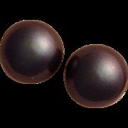 8 mm Cultured Tahitian Pearl Earrings