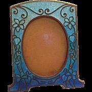 Miniature Art Nouveau Enamel Frame